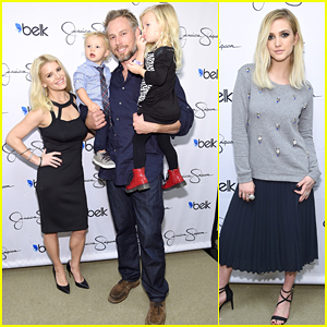 Jessica Simpson Gets the Support of Her Husband & Kids at Home Decor Launch!