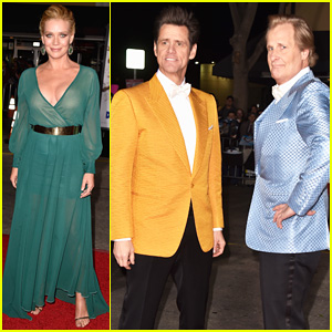 Jim Carrey & Jeff Daniels Channel Harry & Lloyd at 'Dumb & Dumber To' Premiere!