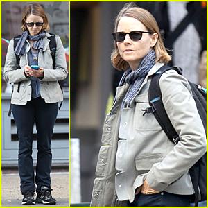 Jodie Foster Keeps Herself Occupied in the West Village