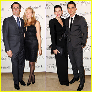 Jon Hamm & Julianna Margulies Bring Hot Dates to the New York Stage and Film 2014 Winter Gala