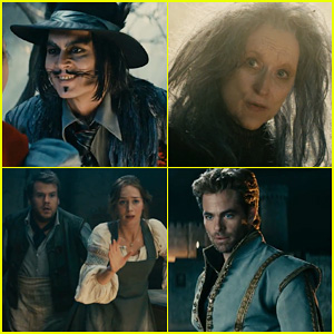 Johnny Depp, Meryl Streep & Emily Blunt Reveal More In New 'Into The Woods' Trailer - Watch Here!