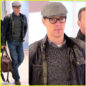 Jon Stewart Can't Stop Hitting on Benedict Cumberbatch, Wants to Rip His Clothes Off - Watch Now!