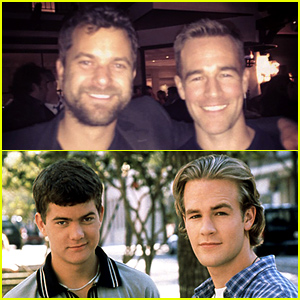 James Van Der Beek & Joshua Jackson Meet Up for an Epic 'Dawson's Creek' Reunion! (Photo)