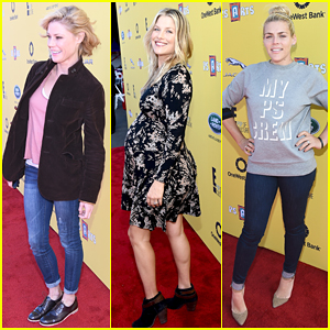 Julie Bowen & Pregnant Ali Larter Are Blonde Beauties at Express Yourself 2014