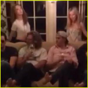 Kate Hudson & Cara Delevingne Accept Julianne Hough's Thanksgiving Dance Wars Challenge (Video)