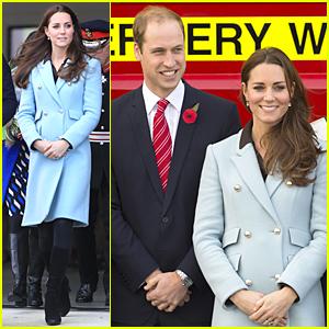 Pregnant Kate Middleton & Prince William Celebrate Pembroke Refinery's 50th Anniversary