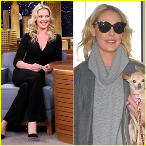 Katherine Heigl Reveals She Owns Fainting Goats - Watch Here!