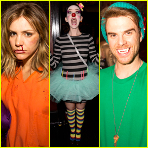 Katharine McPhee Covers Beyonce in Keek Video Booth at Just Jared's Halloween Party!