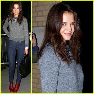 Katie Holmes Will Be Cooking the Thanksgiving Turkey This Year