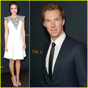 Keira Knightley & Benedict Cumberbatch Bring 'Imitation Game' to Los Angeles