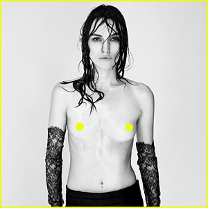 Keira Knightley Agreed to Topless 'Interview' Shoot Because They Didn't Retouch It