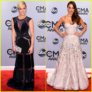 Kellie Pickler & Jana Kramer Look So Chic on CMA Awards 2014 Red Carpet!