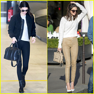 Kendall Jenner Hangs Out with Justin Bieber Again - Watch Here!