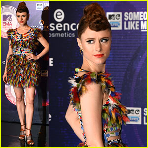 Kiesza Sure Is Not Hiding Away at the MTV EMAs 2014