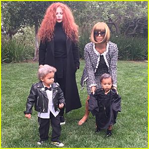 Kim Kardashian Transforms into Anna Wintour For Second Halloween Costume
