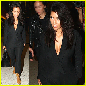 Kim Kardashian Flys Out of Los Angeles After Breaking the Internet