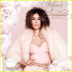 Kim Kardashian Is a Femme Fatale for 'Fleur Fatale' Fragrance Ad!