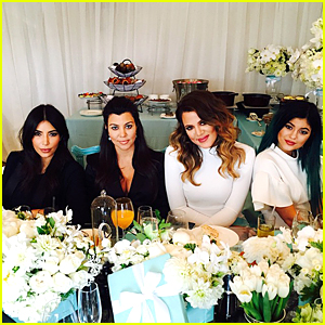Kim & Khloe Kardashian Celebrate Kourtney's Baby Shower