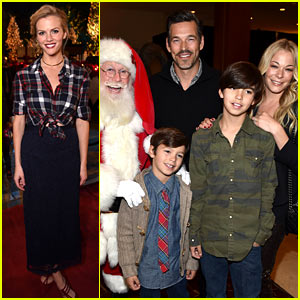 LeAnn Rimes & Brooklyn Decker Get Into the Holiday Spirit at The Grove's Christmas Tree Lighting