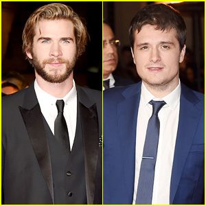 Liam Hemsworth & Josh Hutcherson are Lookers at 'The Hunger Games: Mockingjay - Part 1' London Premiere