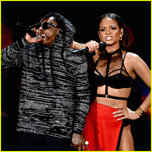 Lil' Wayne & Christina Milian 'Start a Fire' at American Music Awards 2014 - Watch Here!