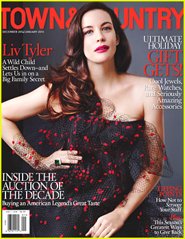 Liv Tyler Talks About Her Second Pregnancy, Gushes About Her Amazing Year with 'Town & Country'
