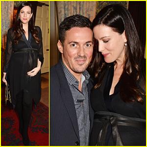 Pregnant Liv Tyler & Boyfriend Dave Gardner Look So in Love at 'Another Man' Magazine Celebration