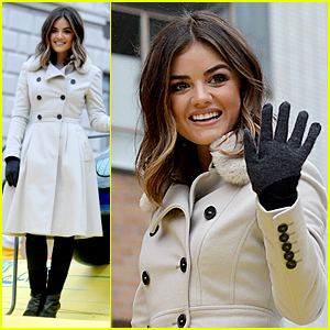 Lucy Hale Lies a 'Little Better' on Thanksgiving Day Parade!