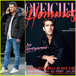 Luke Evans' Rumored Beau Jon Kortajarena Looks So Hot for New Magazine Cover!