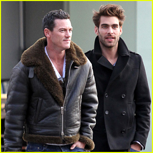 Luke Evans Steps Out with Rumored Boyfriend Jon Kortajarena For Lunch Date
