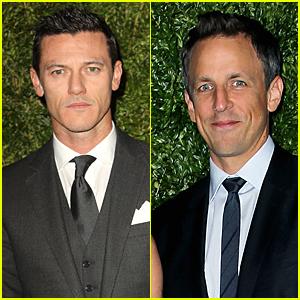 Luke Evans & Seth Meyers Suit Up For CFDA/Vogue Fashion Fund Awards