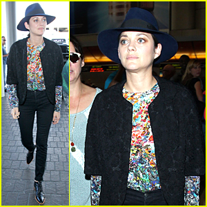 Marion Cotillard's Colorful Style Grabs Our Attention at LAX Airport