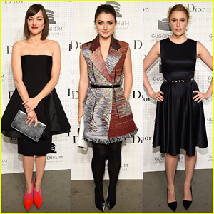 Marion Cotillard & Eve Hewson Get Glam for the Guggenheim International Gala Pre-Party!