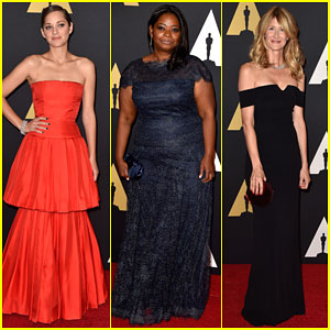 Marion Cotillard & Octavia Spencer Go Glam for the Governors Awards