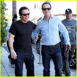 Mark Wahlberg Says Tom Brady's Eyes Are Bluer than Daytona Beach