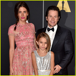 Mark Wahlberg & Wife Rhea Durham Bring Daughter Ella to Governors Awards 2014