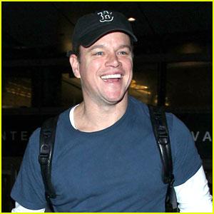 Matt Damon Brings a Little Bit of Boston Back to L.A.