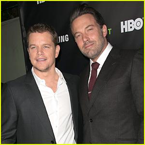 Matt Damon Has Seen Ben Affleck's Penis Many Times Before 'Gone Girl'