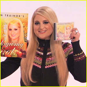 Meghan Trainor Belts Out Awkward Thanksgiving Carols - Watch Here!
