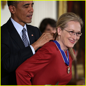 Meryl Streep Receives Medal of Freedom From President Obama - the Nation's Highest Civilian Honor!