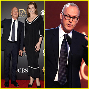 Geena Davis and michael keaton