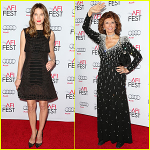 Michelle Monaghan Hits Up the AFI Fest 2014 for Special Sophia Loren Tribute!