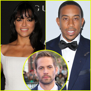 Michelle Rodriguez & Ludacris Remember Late 'Furious 7' Co-Star Paul Walker One Year Later