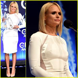 Miranda Lambert Shines with Her Four CMA Awards Trophies!