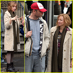 Naomi Watts Gets Sweet Visit From Liev Schreiber on 'Three Generations' Set