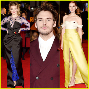 Natalie Dormer & Sam Claflin Premiere 'Hunger Games: Mockingjay' In London!