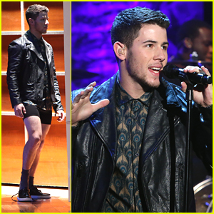 Nick Jonas Is Keeping His Shirt On During 'Ellen' Appearance