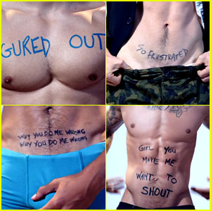 Nick Jonas Fills His 'Teacher' Lyric Video with Shirtless Guys!