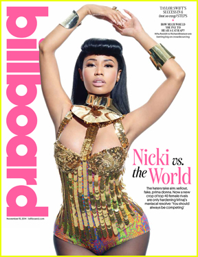 Nicki Minaj Responds to 'Anaconda' Music Video Criticism in 'Billboard'
