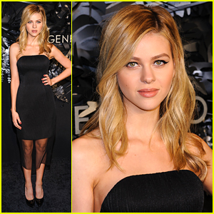 Nicola Peltz Celebrates The Hugo Boss Prize 2014